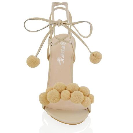 Ivory svatební, společenské sandálky, 36-41, 40