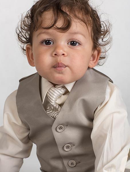 K zapůjčení - béžový oblek, 0-4 roky, různé veliko, 104