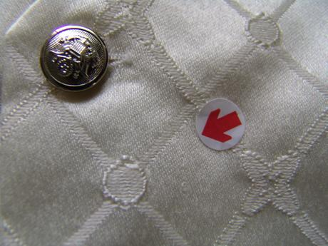 K zapůjčení - ivory oblek, 6-18 měsíců, 68
