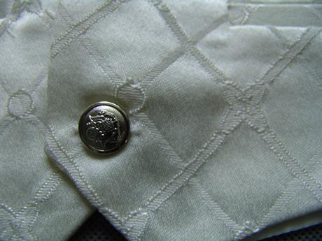 K zapůjčení - ivory oblek, 6-18 měsíců, 80