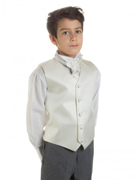 K zapůjčení - ivory oblek, šedé kalhoty, různé vel, 134