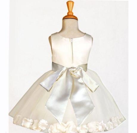K zapůjčení - ivory šaty, 1-4 roky, 80
