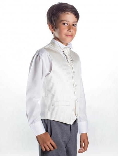 K zapůjčení - ivory, šedý oblek, 1-2 roky, 86