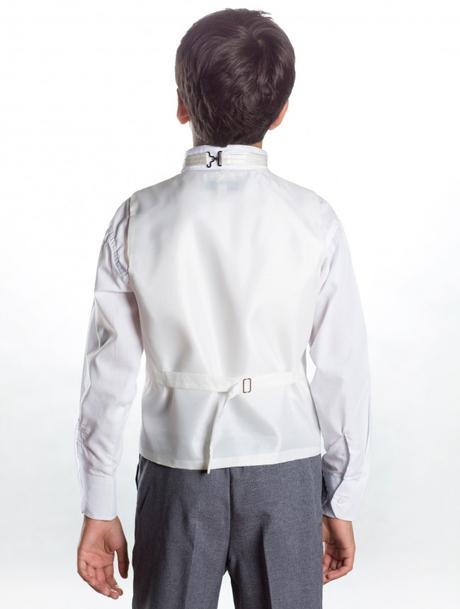 K zapůjčení - ivory, šedý oblek, 1-2 roky, 92