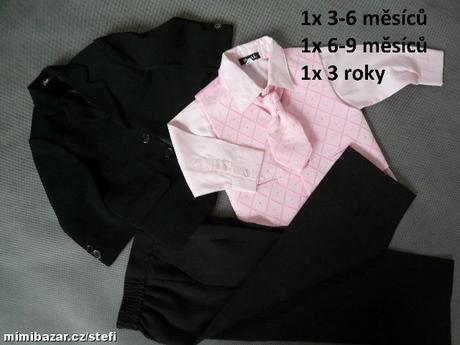 K zapůjčení - růžový oblek, různé velikosti, 62