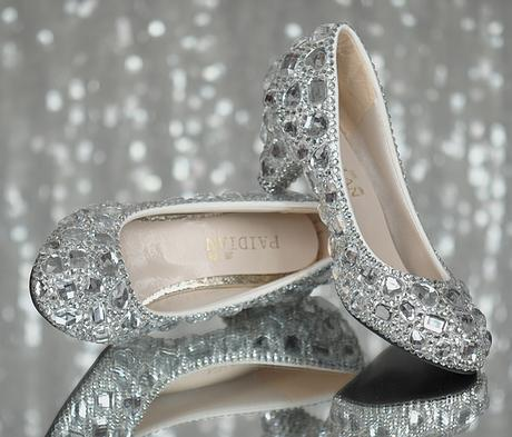 Kamínkové svatební balerínky, 35-40, 38