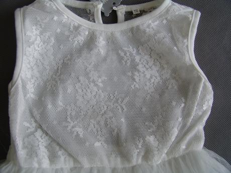 Krajkové, tylové šaty 2-4 roky, 98