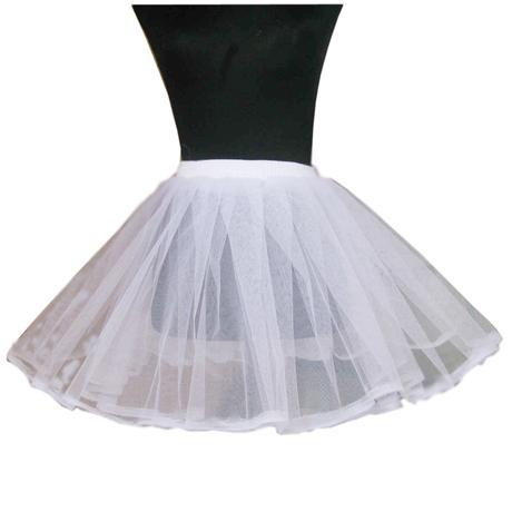 Krátká spodnička pod šaty, 128