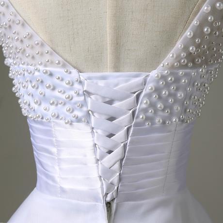 Krátké svatební šaty, popůlnočky, 38