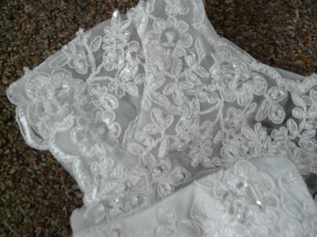 Krátké svatební šaty, reálné foto, různé velikosti, 40