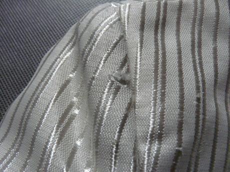 Krémové proužkaté sako, 3-4 roky, 86