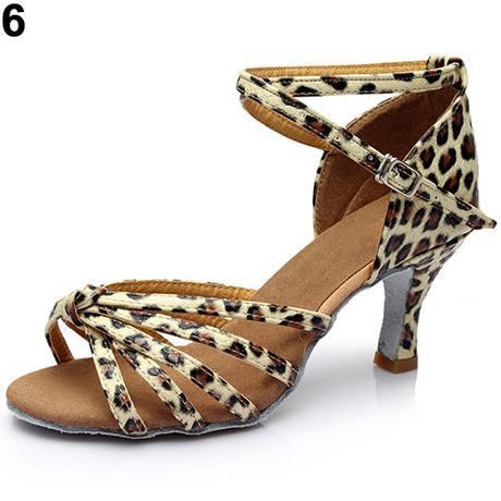 Leopardí taneční střevíčky, 35-41, 35