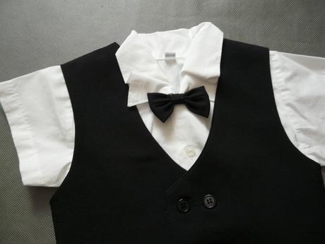 Letní černý oblek - půjčovné, 92