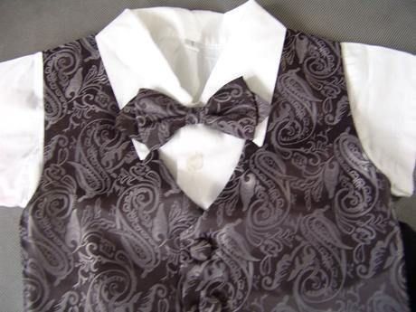 Letní oblek pro miminko - 0-1 rok - půjčovné, 62