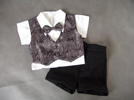 Letní oblek pro miminko - 0-1 rok - půjčovné, 68