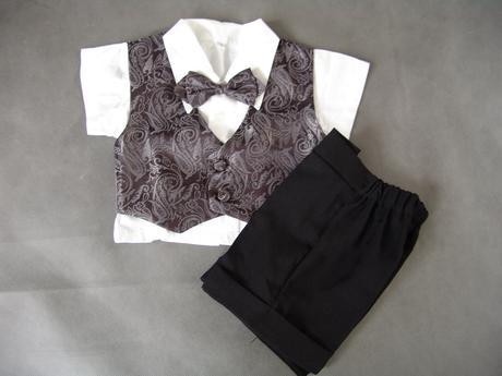 Letní oblek pro miminko - 0-1 rok - půjčovné, 74