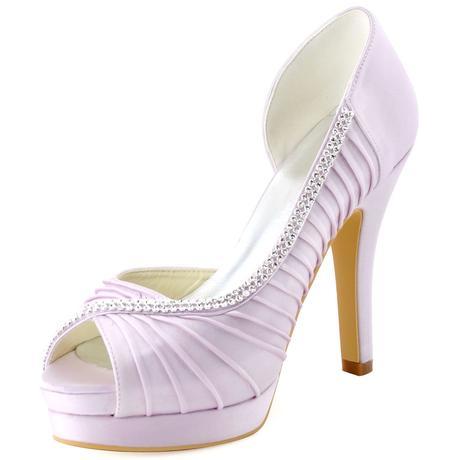 Lilla, fialové svatební lodičky, 35-42, 40