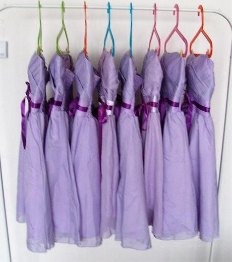 Lilla šaty pro družičky k zapůjčení, M
