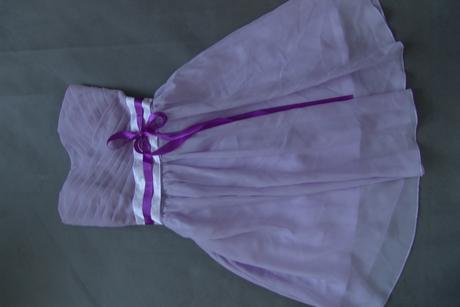 Lilla šaty pro družičky k zapůjčení, S