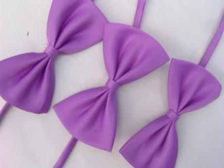Lilla, světle fialový dětský motýlek,