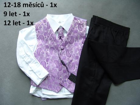 Lilla uni šaty pro družičky, k zapůjčení, XS