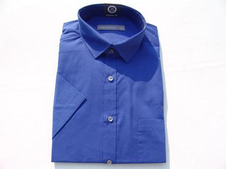 Modrá, zelená, fialová košile , 40