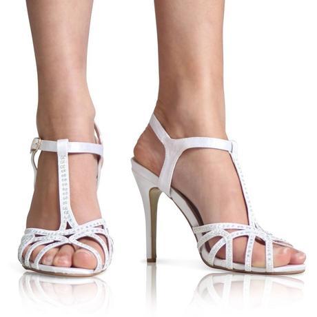 Modré svatební sandálky, 36-41, 36
