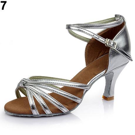Modré taneční, plesové sandálky, 35-41, 38