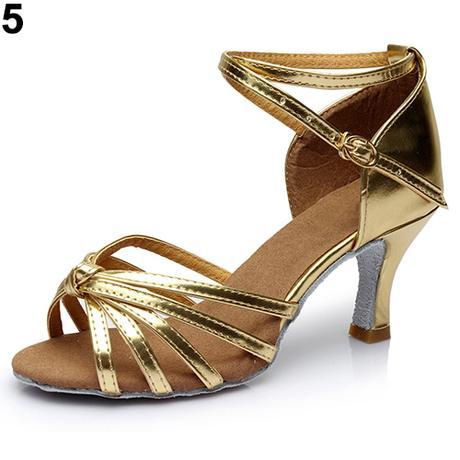 Modré taneční, plesové sandálky, 35-41, 40