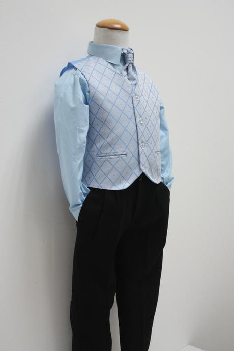 Modrý oblek k zapůjčení 18-24 měsíců, 98