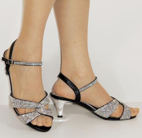 Nadměrná velikost, plesové sandálky, 38-44, 38