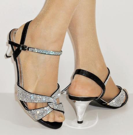 Nadměrná velikost, plesové sandálky, 38-44, 40