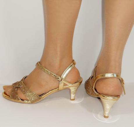 Nadměrná velikost, plesové sandálky, 38-44, 42