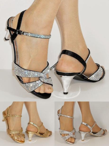 Nadměrná velikost, plesové sandálky, 38-44, 43