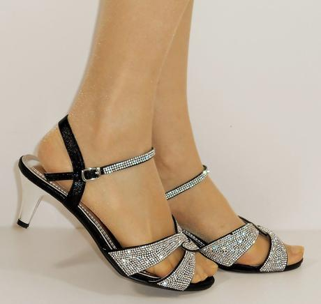 Nadměrná velikost, plesové sandálky, 38-44, 44