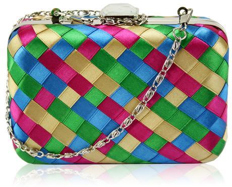 NOVINKA - barevná kabelka,