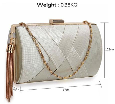 NOVINKA - bílá svatební kabelka, nejenom svatební,