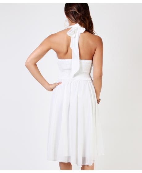 NOVINKA - bílé svatební šaty, popůlnočky, společen, 40