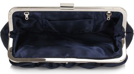NOVINKA - černá společenská kabelka,