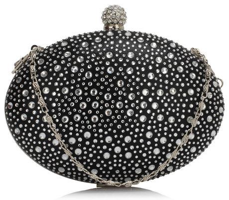 NOVINKA - černé extravagantní lodičky, kabelky, 36