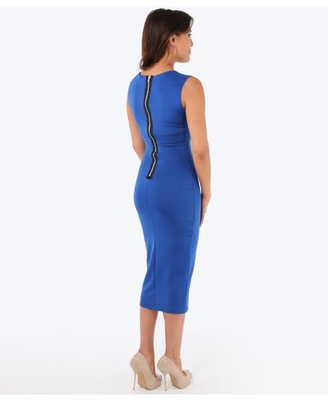 NOVINKA - černé společenské šaty, 44