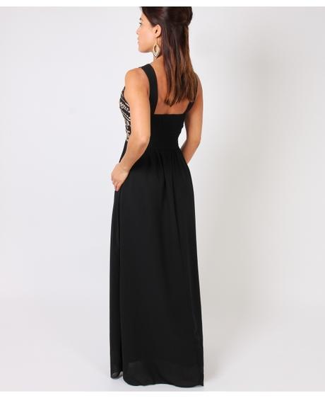 NOVINKA - černé společenské šaty, S,M,L, 40