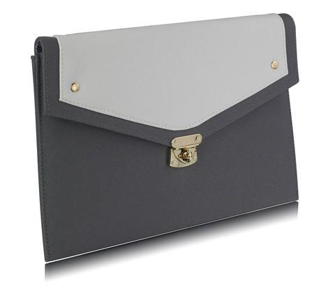 NOVINKA - černo tělová kabelka, psaníčko,