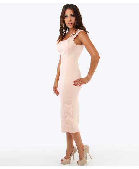NOVINKA - červené společenské šaty, 42