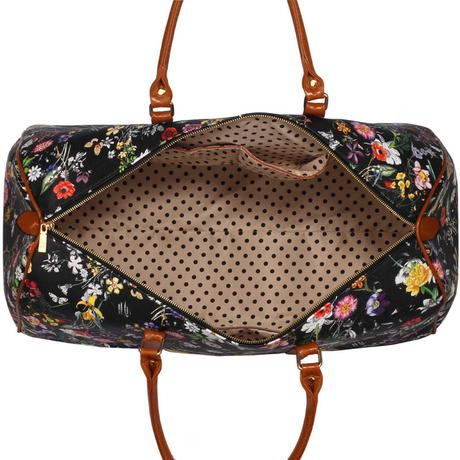 NOVINKA - cestovní taška, květiny,