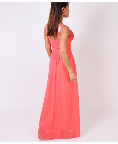 NOVINKA - coral společenské, svatební šaty, S