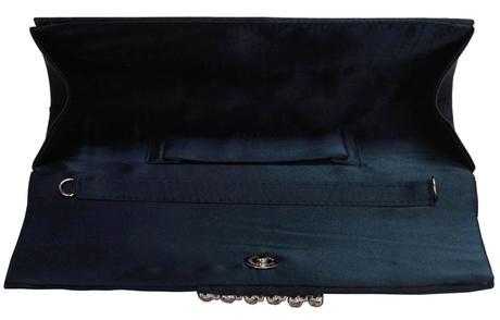 NOVINKA - fialová svatební, společenská kabelka,