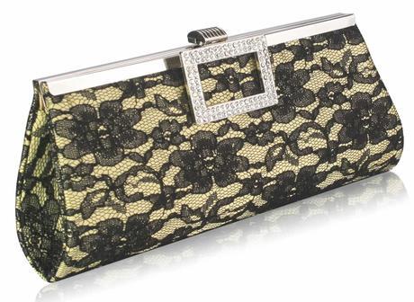 NOVINKA - ivory krajková kabelka,