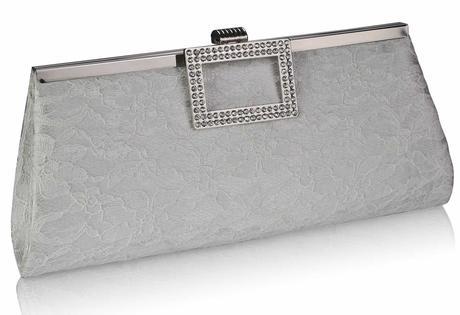 NOVINKA - ivory krajkové svatební lodičky, kabelka, 37