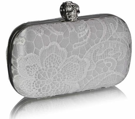 NOVINKA - ivory krajkové svatební lodičky, kabelka, 41